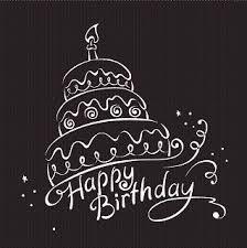 birthday black happy birthday wishes png birthday black white