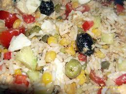 cuisine salade de riz recette de salade de riz à ma façon