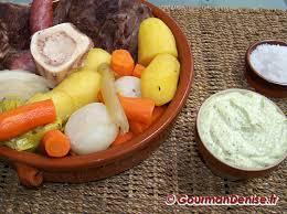 au feu bœuf et légumes