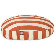 amazon com black vertical stripe small round indoor outdoor pet