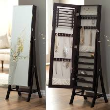 Standing Mirror Jewelry Armoire – Abolishmcrm.com Amazoncom Organizedlife Black Mirrored Jewelry Cabinet Armoire Ipirations Mirror Standing Ideas Inspiring Stylish Storage Design With Big Lots Tips Walmart Oak Free Fniture Chest Dark Cherry Hives And Honey Cheval Decor Lovable Brown Wood Giantex Modern Espresso Hayneedle Baxton Studio Alena Fishing Amazing Box Home