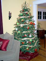 Christmas Tree With Ribbon Decorating Ideas Awesome Inspirational Trees Design That Will Make Your