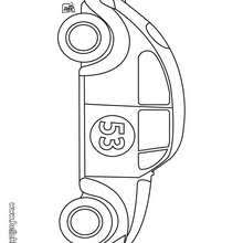 Racing Car Old Coloring Page