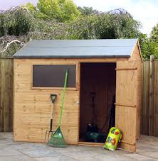 Cheap 6 X 8 Wooden Sheds by Cotswold Shiplap 8x6 Reverse Apex Shed Greenhouse Stores