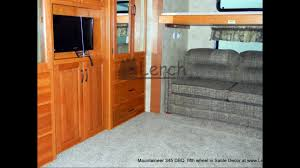 5th Wheel Campers With Bunk Beds by 2012 Montana Mountaineer 345 Dbq Bunk House 5th Wheel By Keystone