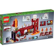 Minecraft Bedding Walmart by Lego Minecraft The Nether Fortress 21122 Walmart Com