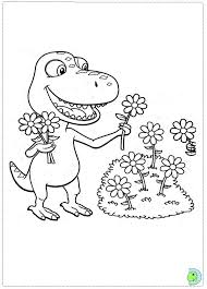 Animal Train Colouring Pages Printable Dinosaur Coloring