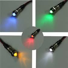 new 6mm led indicator light l bulb pilot dash directional car