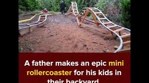 This Awesome Grandpa Makes An Epic Roller Coaster For His ... Worlds Smallest Roller Coaster Located In Queens New York City Outnback Negative G Backyard Roller Coaster Album On Imgur Homemade Pvc Rollcoaster Daytime Pov1 Youtube Home Byrc Rdiy Timbliner Back Yard Overview Indiana Oddities Amazing Diy Rollcoaster Video 2016 Daily Heart Beat This Awesome Grandpa Makes An Epic For His Designing A Safe With Paul Gregg Coaster101 Building The