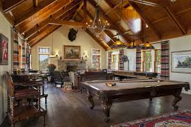 Colorado Ranch Exterior View In Gallery Living Room Features A Pool Table