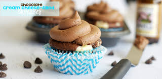 Chocolate Cream Cheese Filled Cupcakes