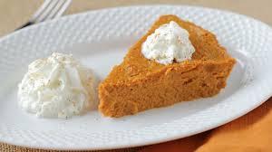 Crustless Pumpkin Pie by Delicious Flourless Pumpkin Pie Gluten Free Recipe Genius Kitchen