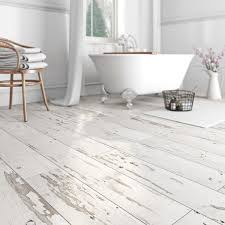A Dark Brown Wood Effect Ceramic Tile With A Very Convincing Wood