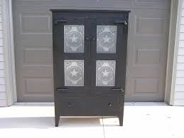 Custom Made Primitive Tin Front Pie Safe 4 Panel by Out There
