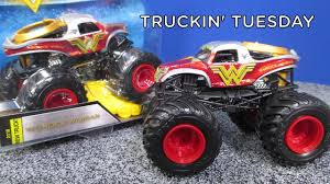 Truckin' Tuesday! Monster Jam Wonder Woman 2018 New Truck! Max-D ...