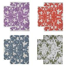 Purple Camo Bathroom Sets by Iron Gate Cotton 2 Piece Bath Rug Set Includes Bonus Step Out