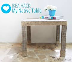 ikea lack side table hacks twoinspiredesign