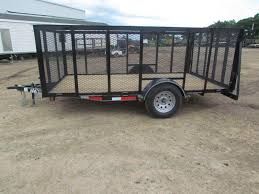 2018 Landscape Trailer Single Axle 77x12 GVWR 2990 NEW 2017