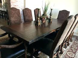 Iron Dining Chairs Tuscan Farmhouse