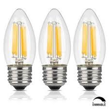jcase led globe light bulbs candelabra base 5w 40w incandescent