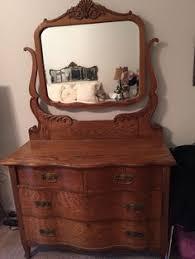 early 1900s antique oak dresser with mirror oak dresser dresser