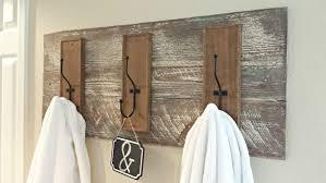 Diy Rustic Towel Rack Blue Sage Designs