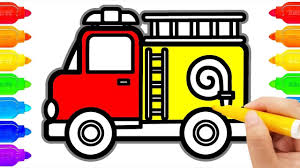 How To Draw FIRE TRUCK And Coloring Pages For Kids | Art Colours For ... Antique Fire Trucks Draw Hundreds To Town Park Johnston Sun Rise Education South Lyon Fire Department Kids Truck Fun Games Apk Download Free Educational Game For Easy Kid Drawing Pictures Wwwpicturesbosscom For Clip Art Drawn Marker 967382 Free Amazoncom Vehicles 1 Interactive Animated 3d How Draw A Police Car Truck Ambulance Cartoon Draw An Easy Firetruck Printable Dot Engine Dot Kids