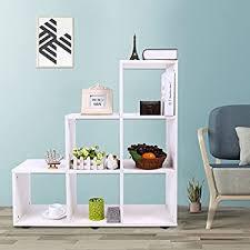 wohnzimmer esszimmer regal standregal dekoregal raumteiler weiß