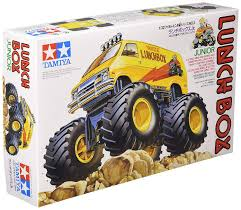 100 Monster Truck Lunch Box TAMIYA Box Jr Japan NEW