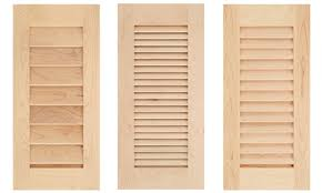 Ikea Kitchen Cabinet Doors Canada by Inexpensive Cabinet Door Wood Louvered Cabinet Doors Louvered