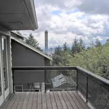 Small Outdoor Balcony With Pallet Floor Idea Creative