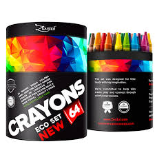 Crayola Bathtub Crayons 18 Vibrant Colors by Amazon Com Crayons For Toddlers Babies Kids Big Eco Gift Box