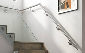 Wall Mounted Metal Handrails - Stair Parts Online Elegant Glass Stair Railing Home Design Picture Of Stairs Loversiq Staircasedesign Staircases Stairs Staircase Stair Classy Wooden Floors And Step Added Staircase Banister As Glassprosca Residential Custom Railings 15 Best Stairboxcom Staircases Images On Pinterest Banisters Inspiration Cheshire Mouldings Marble With Chrome Banisters In Modern Spanish Villa Looking Up At An Art Deco Ornate Fusion Parts Spindles Handrails Panels Jackson The 25 Railing Design Ideas