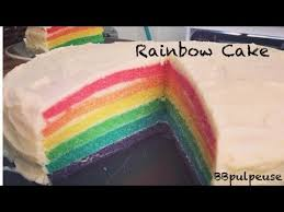 recette de cuisine cake recette rainbow cake
