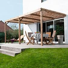 pergola bois en kit leroy merlin de design unique