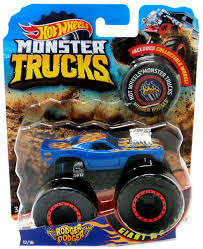 100 Hot Wheels Monster Truck Toys S Rodger Dodger DieCast Car Collectible Wheel