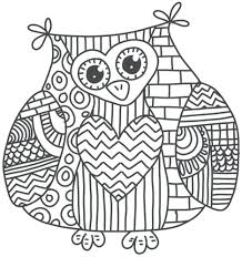 Coloring Pages Halloween Pdf Online Disney For Kids Owl Page
