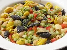 salade de pâtes froides conchiglie pentacolore les recettes de