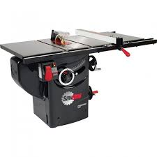 sawstop 1 75 hp professional table saw w 30