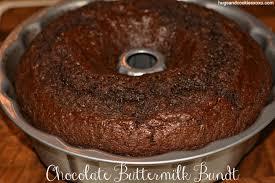 buttermilk bundt chocolate bundt