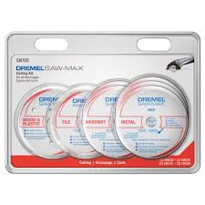 Tile Saw Blades Home Depot by Dremel Saw Max Cutting Wheel Kit For Tile Wood Plastic Masonry