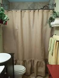 Simply Shabby Chic Curtains Ebay by Best 25 Burlap Shower Curtains Ideas On Pinterest Burlap Shower