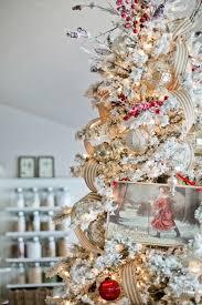 Flocking Christmas Tree Kit by My Christmas Home Tour Flocked Christmas Trees Vintage Santas
