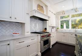 Off White Kitchen Cabinets Dark Floors With Transitional
