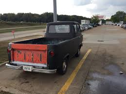 Lot Shots Find Of The Week: Ford Econoline Pickup Truck ... 1962 Ford Econoline Pickup F129 Houston 2016 Volo Auto Museum Forward Cab Truck Quadratec Spring Special 1965 For Salestraight 63 On Treeoriginal Lot Shots Find Of The Week Hemmings Day 1961 Picku Daily Hot Rod Network 19612013 Timeline Trend Sale Duluth Minnesota E Series Very Rare