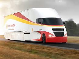 100 Semi Truck Pictures Shell Airflow Starship Semi Truck Aims For Fueleconomy Record