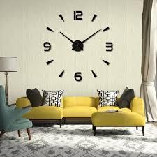 Horloge Mural 3d Achat Vente Pas Cher Inspirant Decoration Maison Interieur Avec Horloge Murale Moderne
