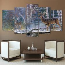 Safari Decorating Ideas For Living Room by Online Get Cheap Jungle Painting Aliexpress Com Alibaba Group