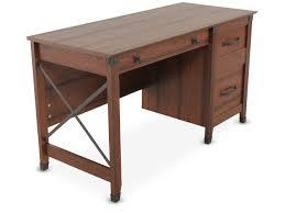 Sauder Harbor View Computer Desk by Sauder Washington Cherry Desk Mathis Brothers Furniture