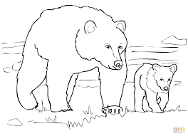 Coloring Pages Teddy Bears With Hearts Christmas Bear Grizzly Family Page Bearded Dragon Full Size